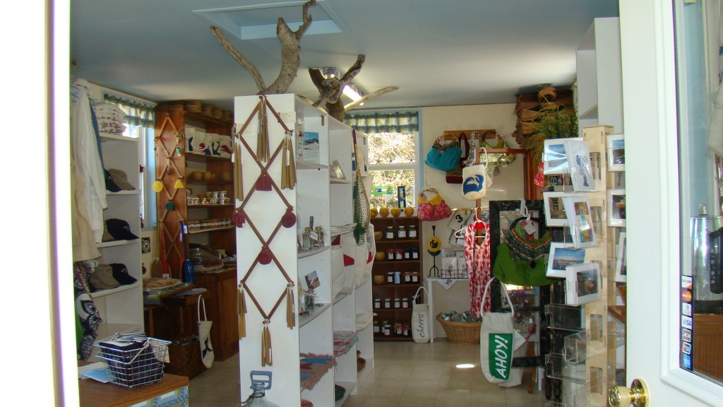 Inside Shore Shop Gifts of Maine